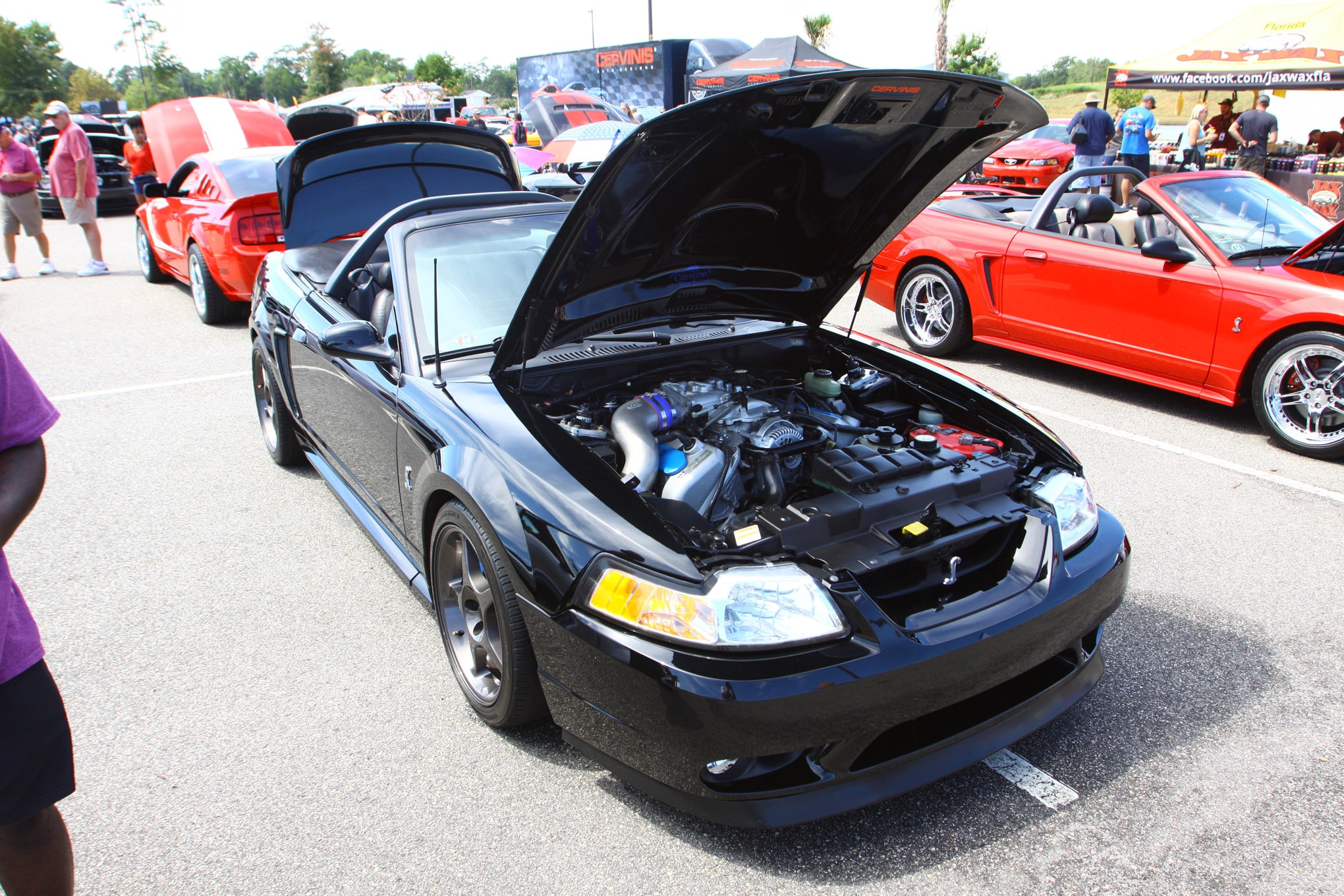 Friday CJ Pony Parts Mustang Week Car Show 62