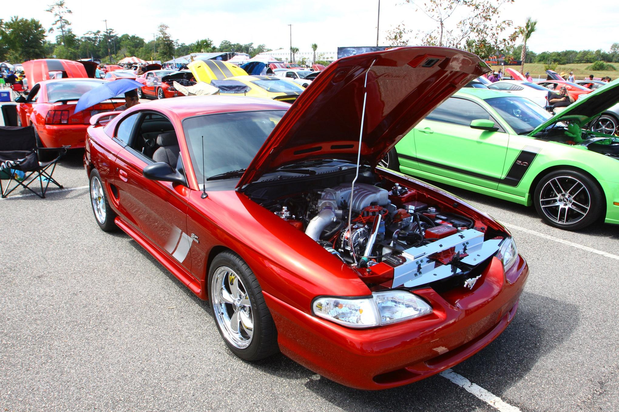 Friday CJ Pony Parts Mustang Week Car Show 61