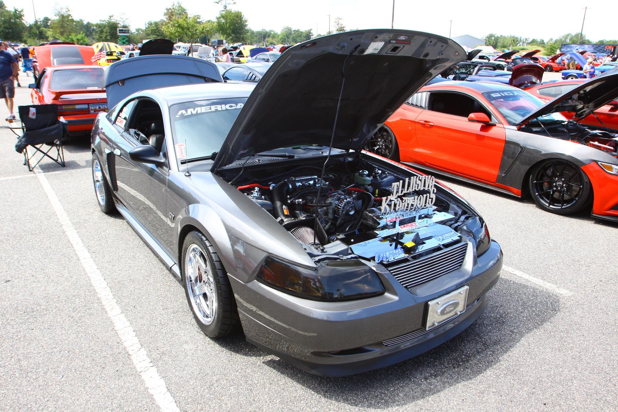 Friday CJ Pony Parts Mustang Week Car Show 57