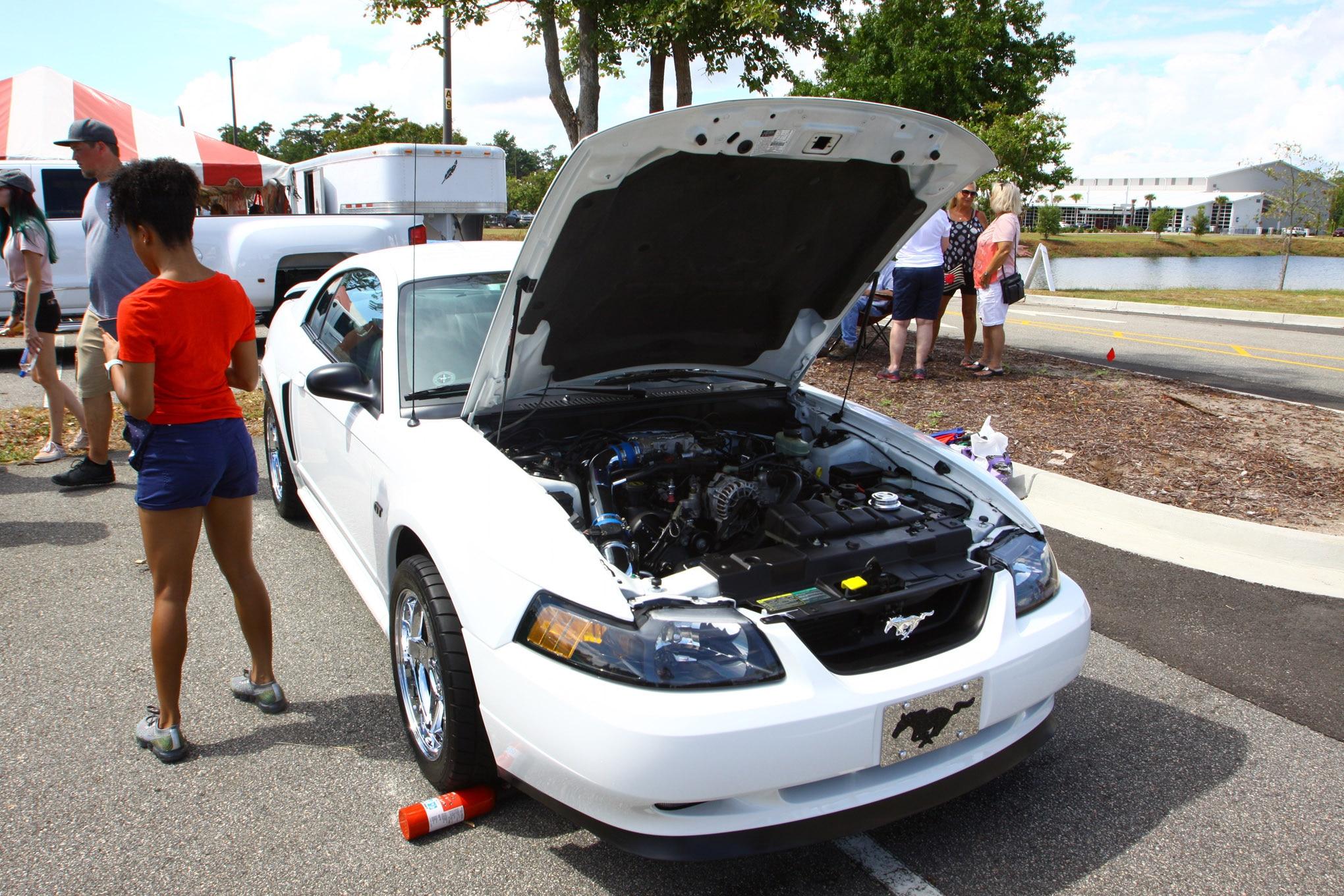Friday CJ Pony Parts Mustang Week Car Show 55
