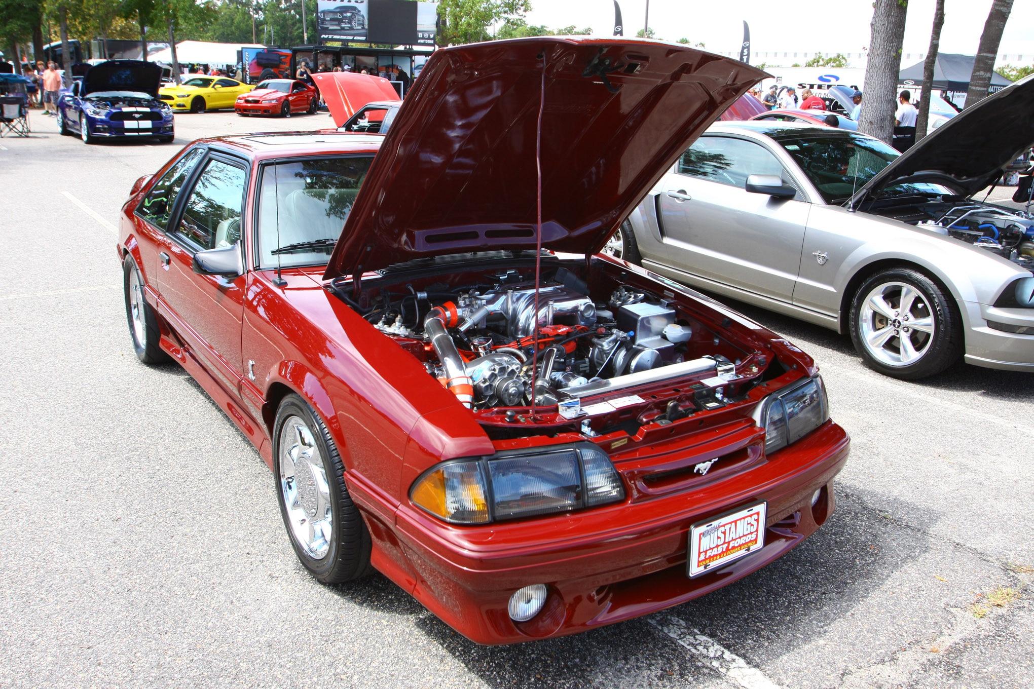 Friday CJ Pony Parts Mustang Week Car Show 44