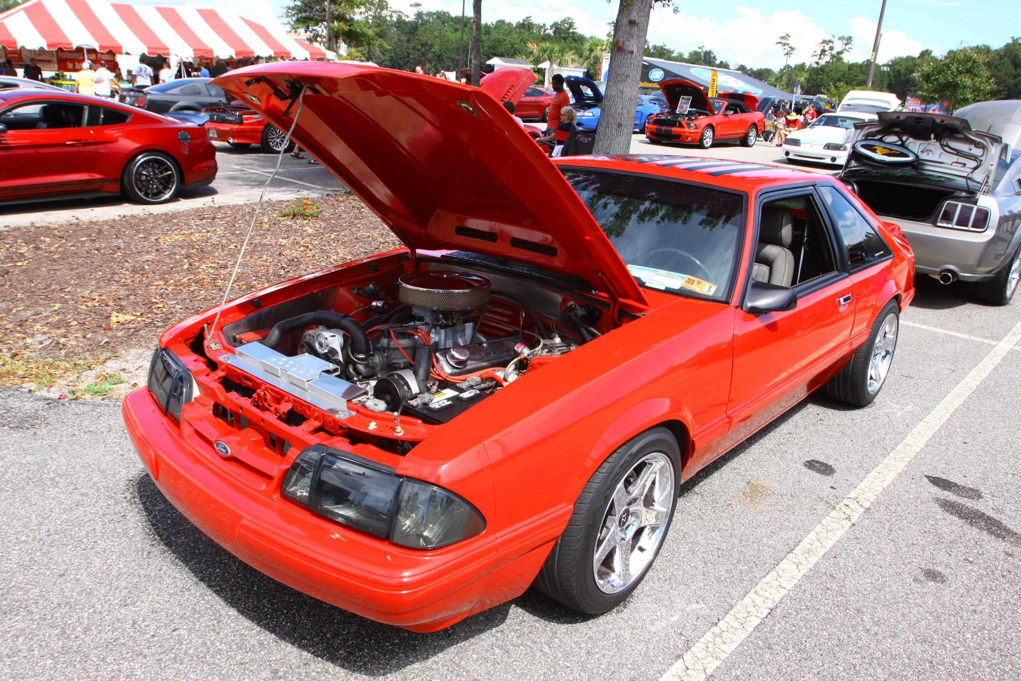 Friday CJ Pony Parts Mustang Week Car Show 39