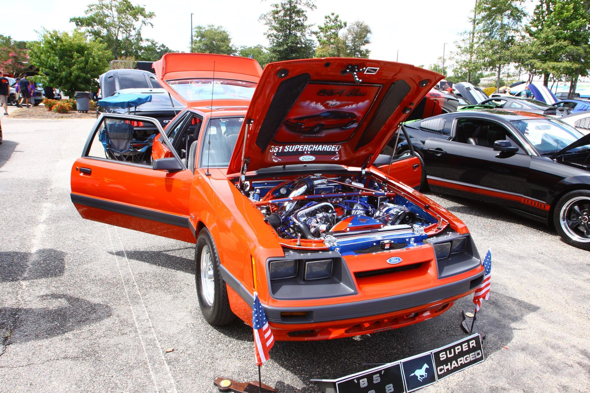 Friday CJ Pony Parts Mustang Week Car Show 36