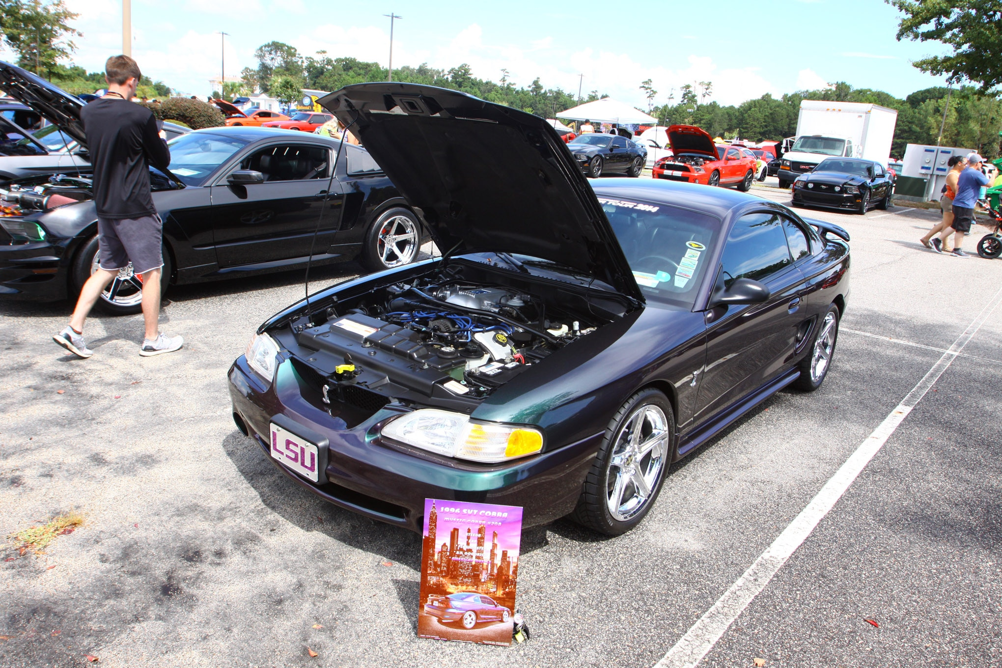 Friday CJ Pony Parts Mustang Week Car Show 35