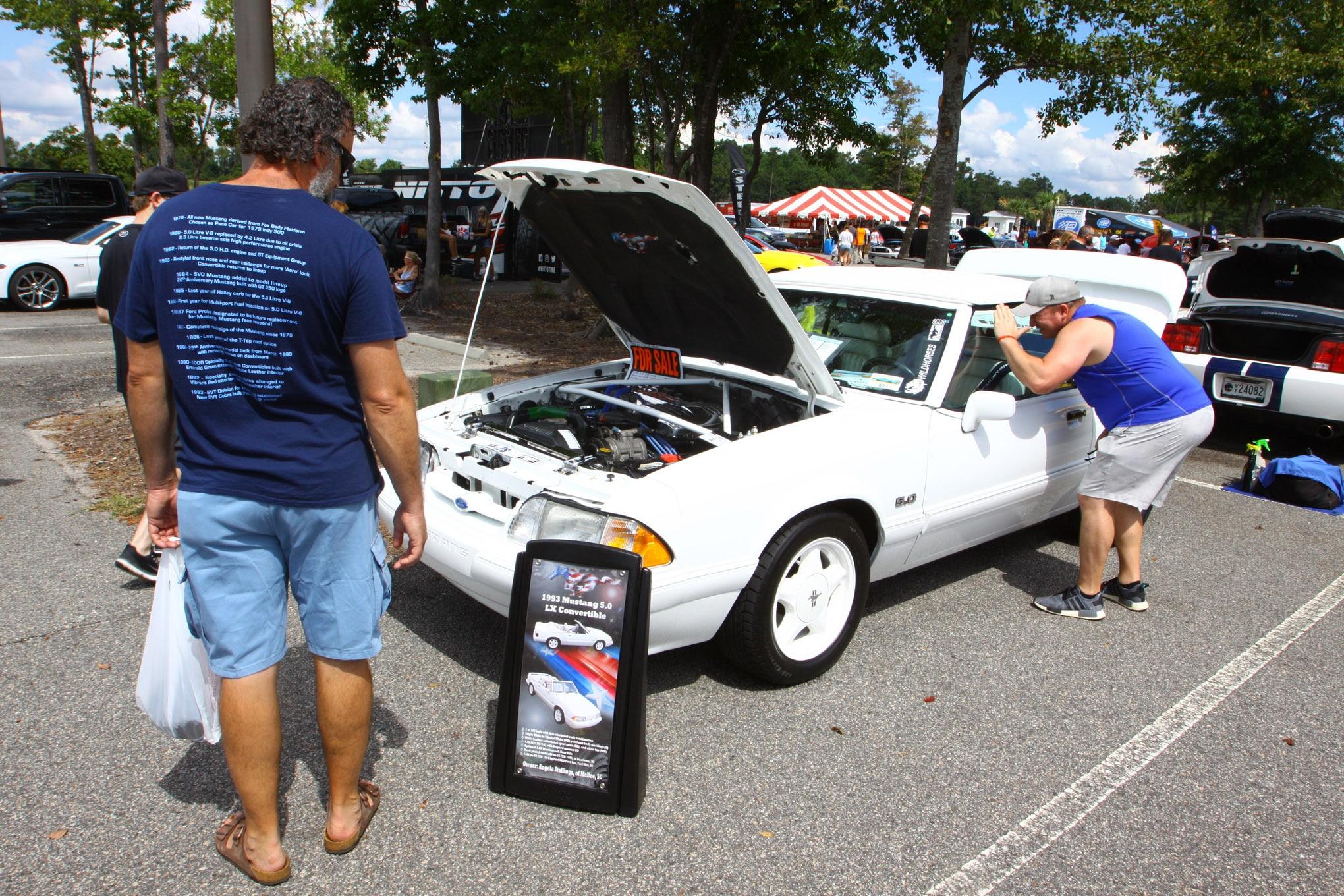 Friday CJ Pony Parts Mustang Week Car Show 26