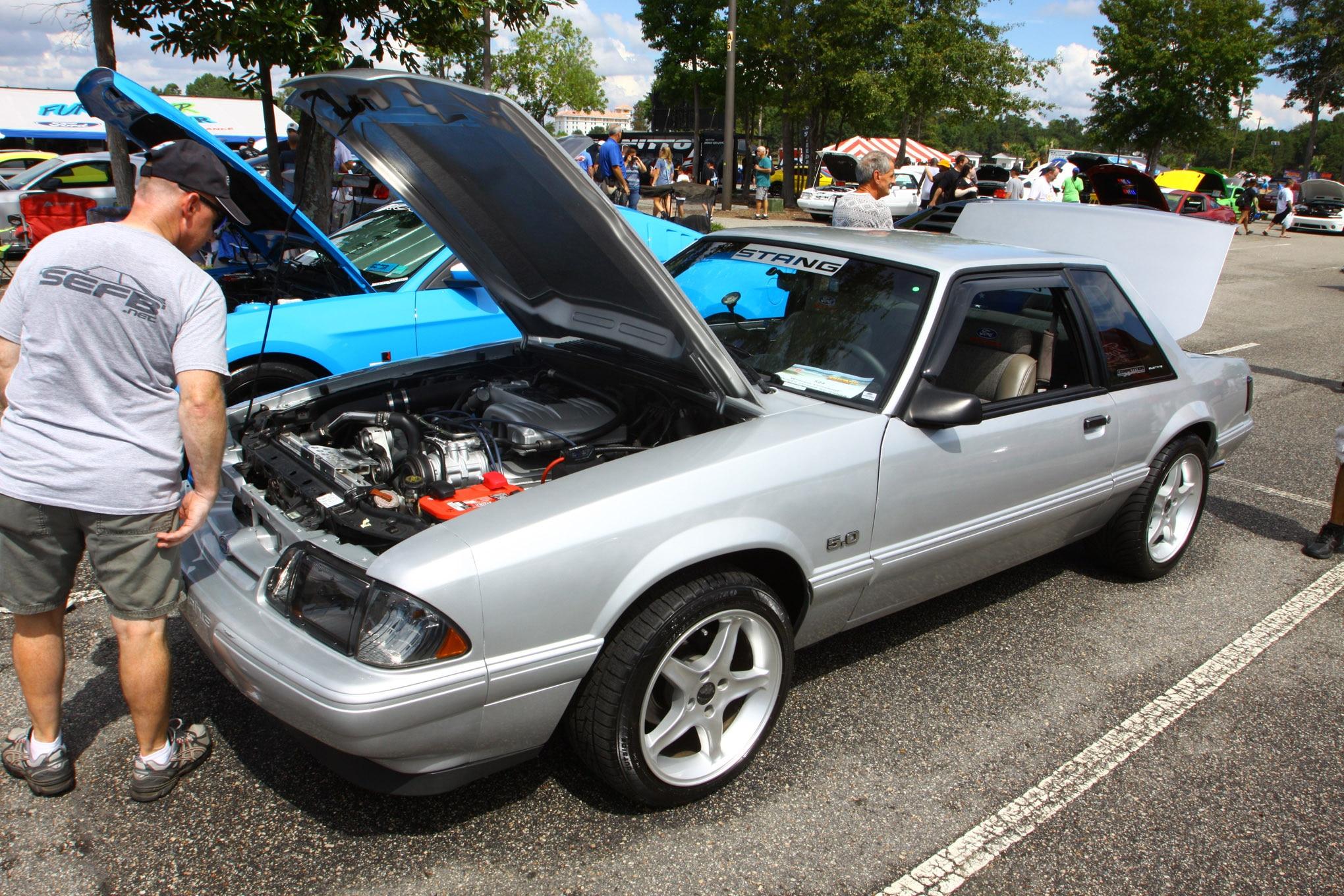 Friday CJ Pony Parts Mustang Week Car Show 18