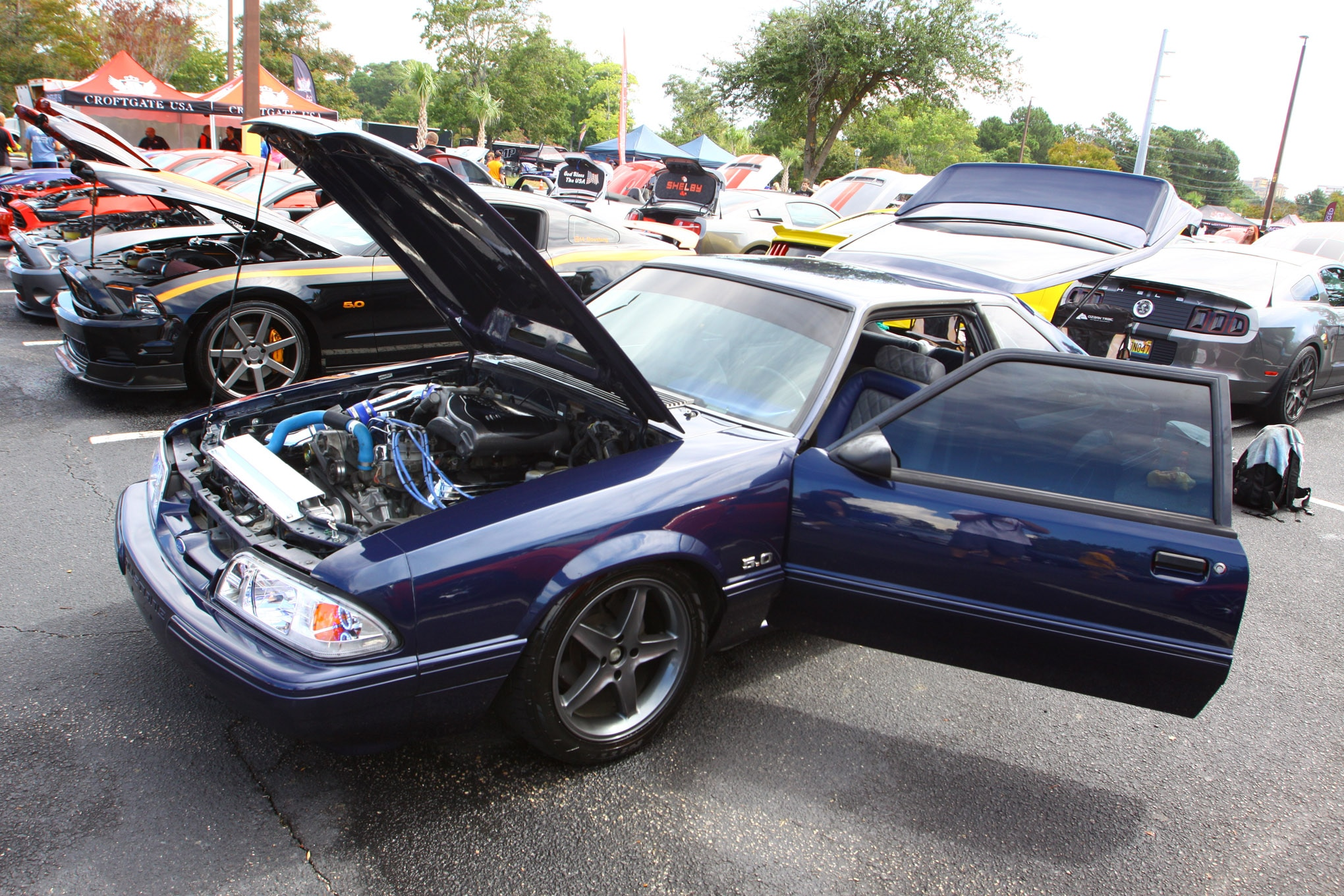 Friday CJ Pony Parts Mustang Week Car Show 12
