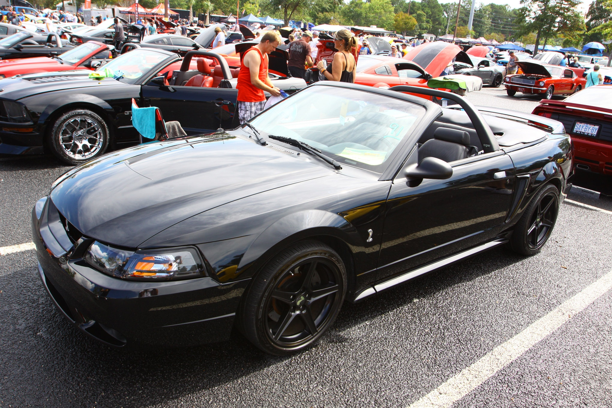Friday CJ Pony Parts Mustang Week Car Show 6