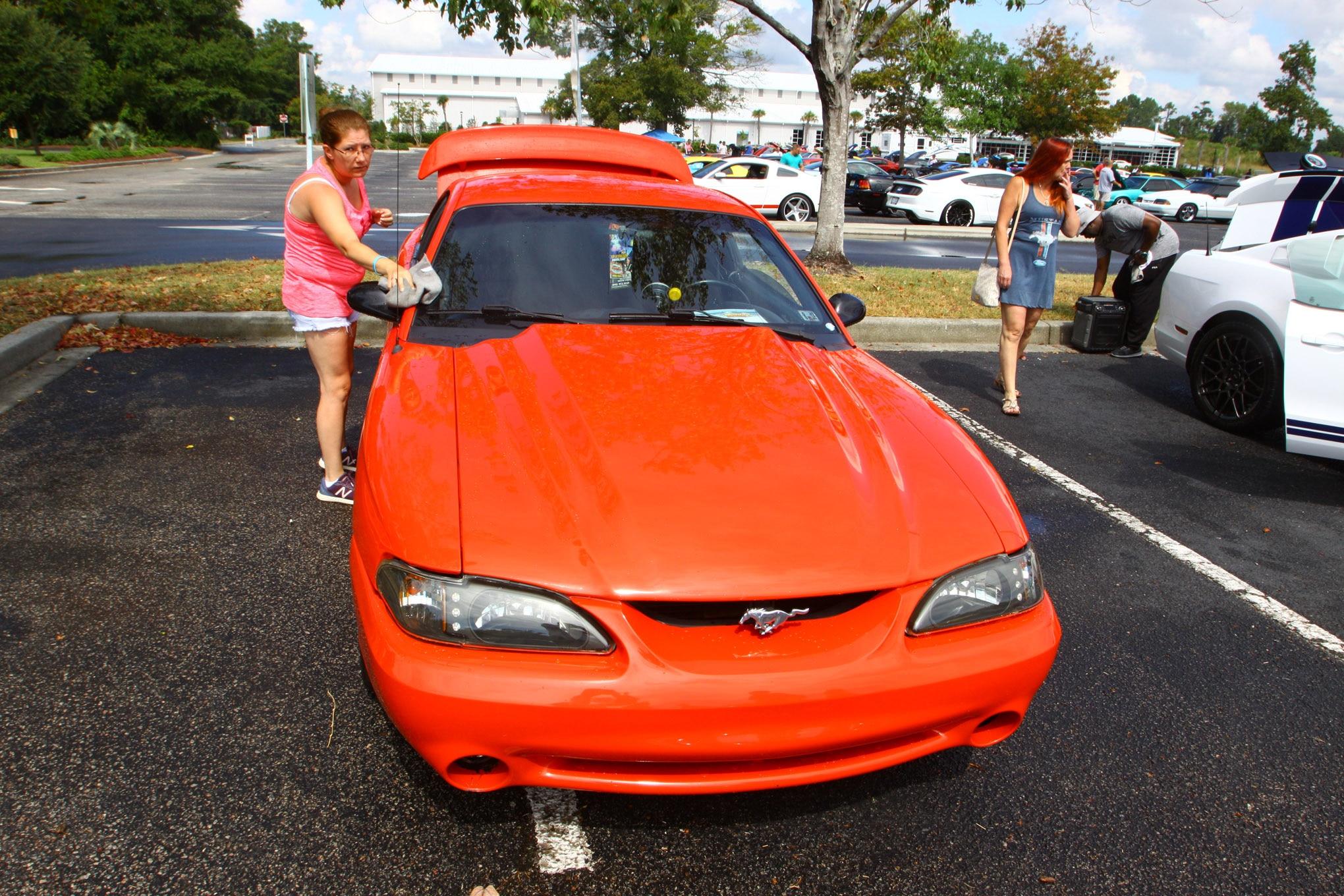 Friday CJ Pony Parts Mustang Week Car Show 2