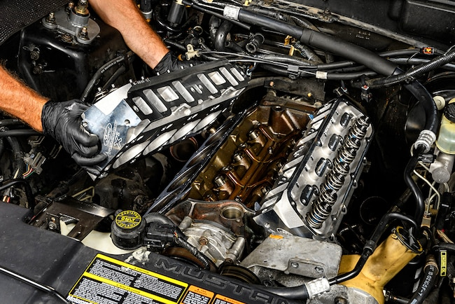 Ford Performance X2 Cylinder Heads Installation Lead