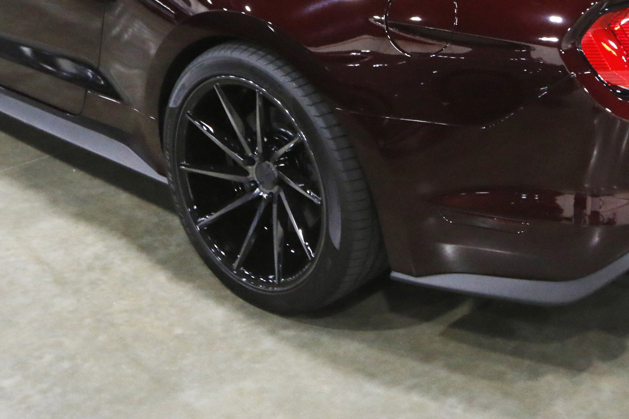 11 2018 Mustang Week Edition Mustang Convertible Vossen Wheels