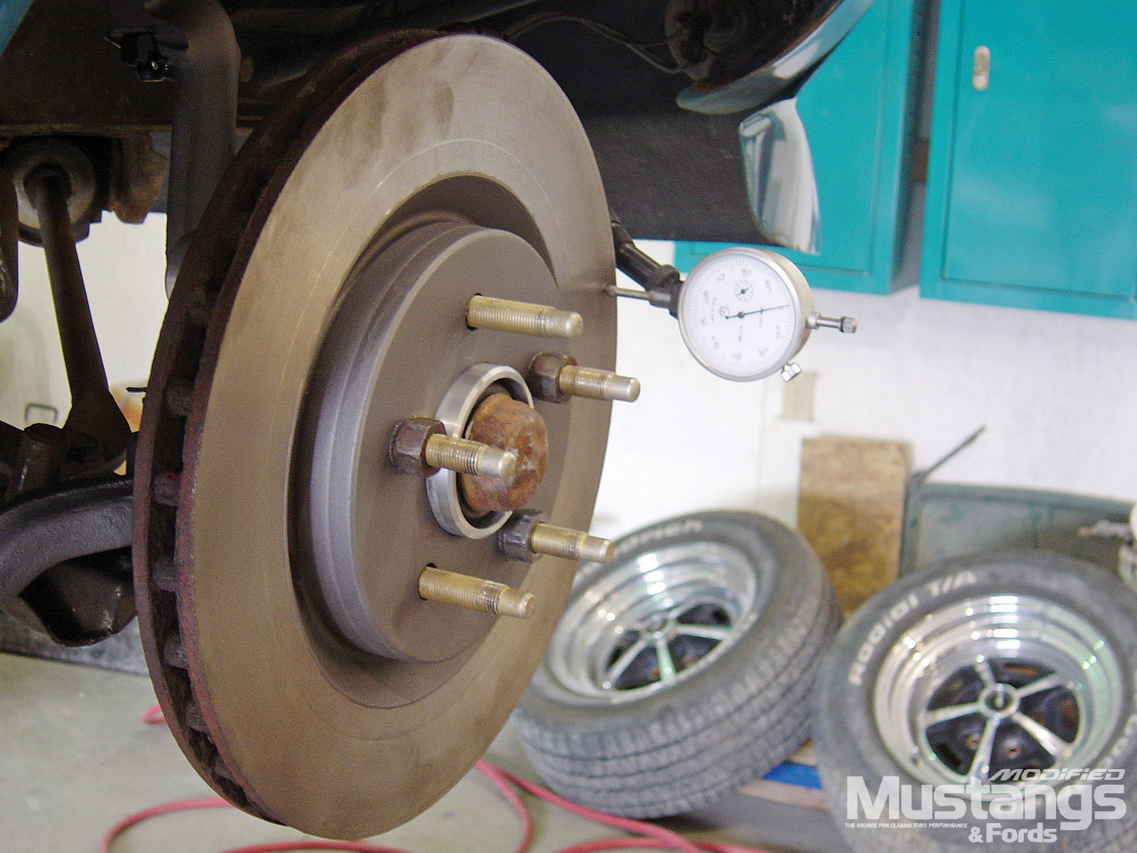 Four Wheel Disc Brake Installation Install Rotor