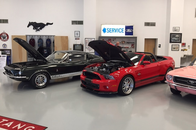 Mustang Owners Museum Lead