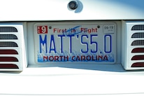 Foxtoberfest Fox Mustang Vanity Plate 78