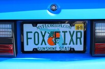 Foxtoberfest Fox Mustang Vanity Plate 41