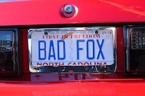 Foxtoberfest Fox Mustang Vanity Plate 26