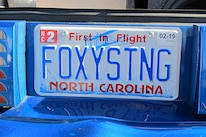 Foxtoberfest Fox Mustang Vanity Plate 13