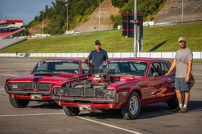 Father Son Drag Week Cougars 01