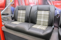 09 TMI Products Bench Seat With Plaid Inserts