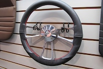 11 TMI Products Steering Wheel Black Leather