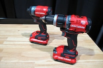 03 Craftsman Power Tools Drill And Impact Driver