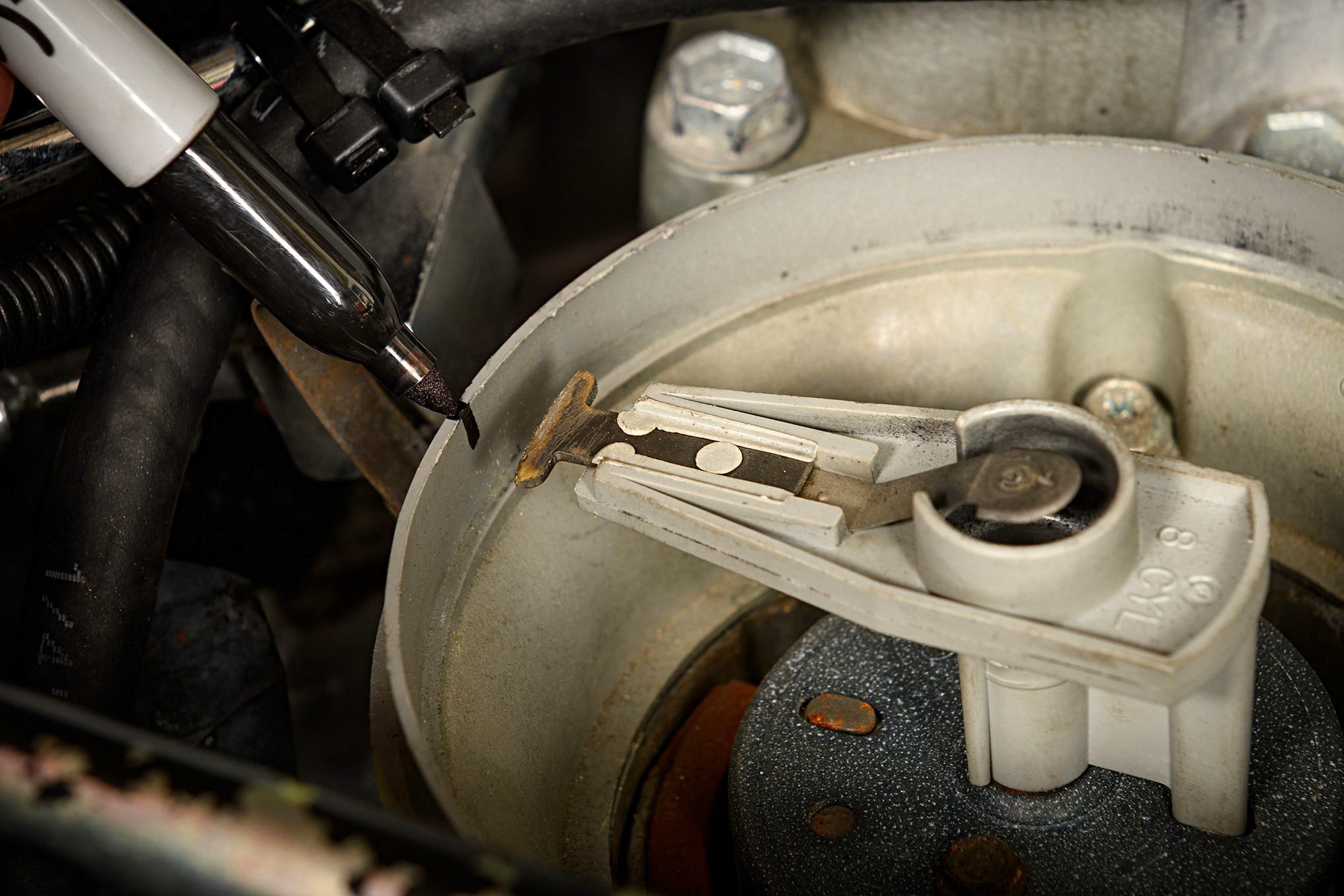 013 Mustang Mark Distributor Cap Rotor Position