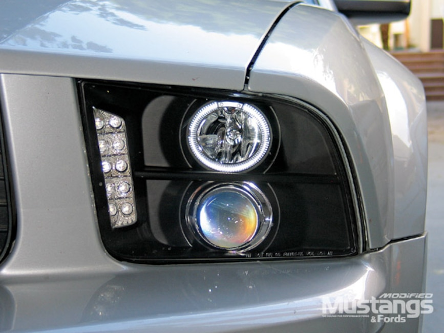 2006 Ford Mustang S197 Mr Bodykit Headlights And Taillights Install Let There Be Light