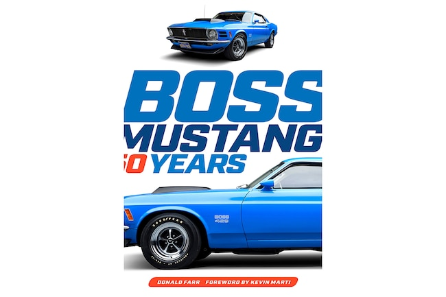 01 Boss Mustang 50 Years Book Donald Farr