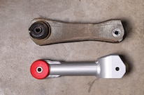 016 009 Mustang Stock Steeda Upper Control Arm Comparison