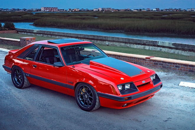 Tony Frank S Flawless 1985 Four Eye Mustang Gt