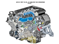 2011 Ford Mustang Gt 5 0 Coyote Engine Photo Image Gallery