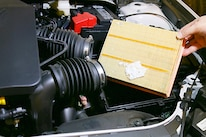 006 Ford Fusion Panel Air Filter Dirt