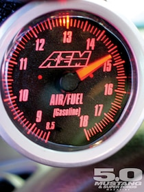 AEM's Wideband Air/Fuel Gauge - 5 0 Mustang &