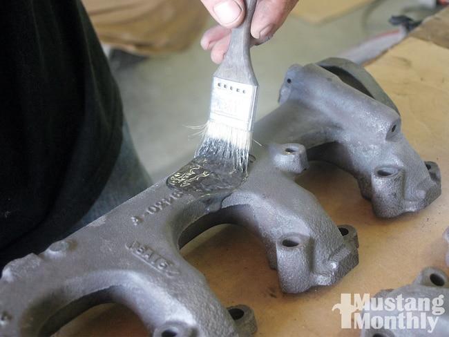Mump 0911 01  Exhaust Manifold Restoration Exhaust Manifold