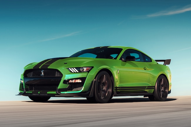 1 Grabber Lime 2020 Mustang