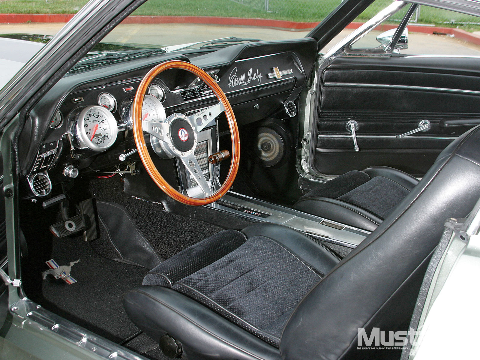 1967 Mustang Eleanor Replica Interior Steering Wheel