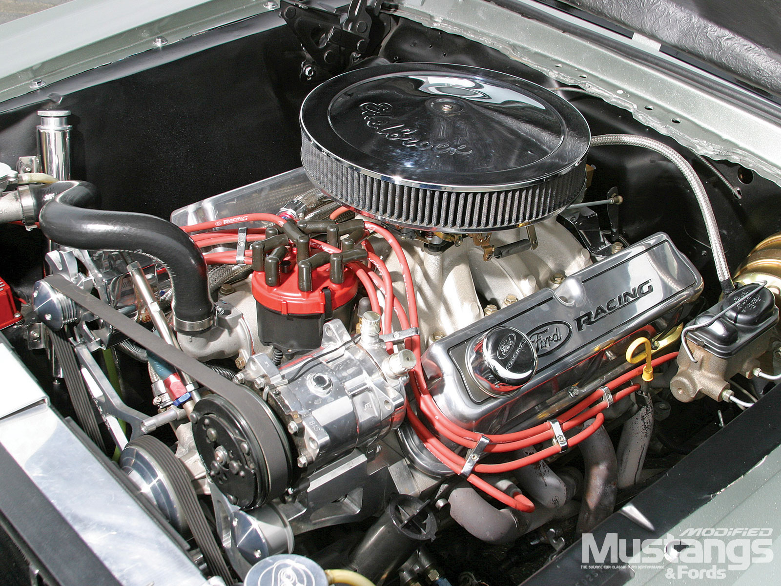 1967 Mustang Eleanor Replica Engine