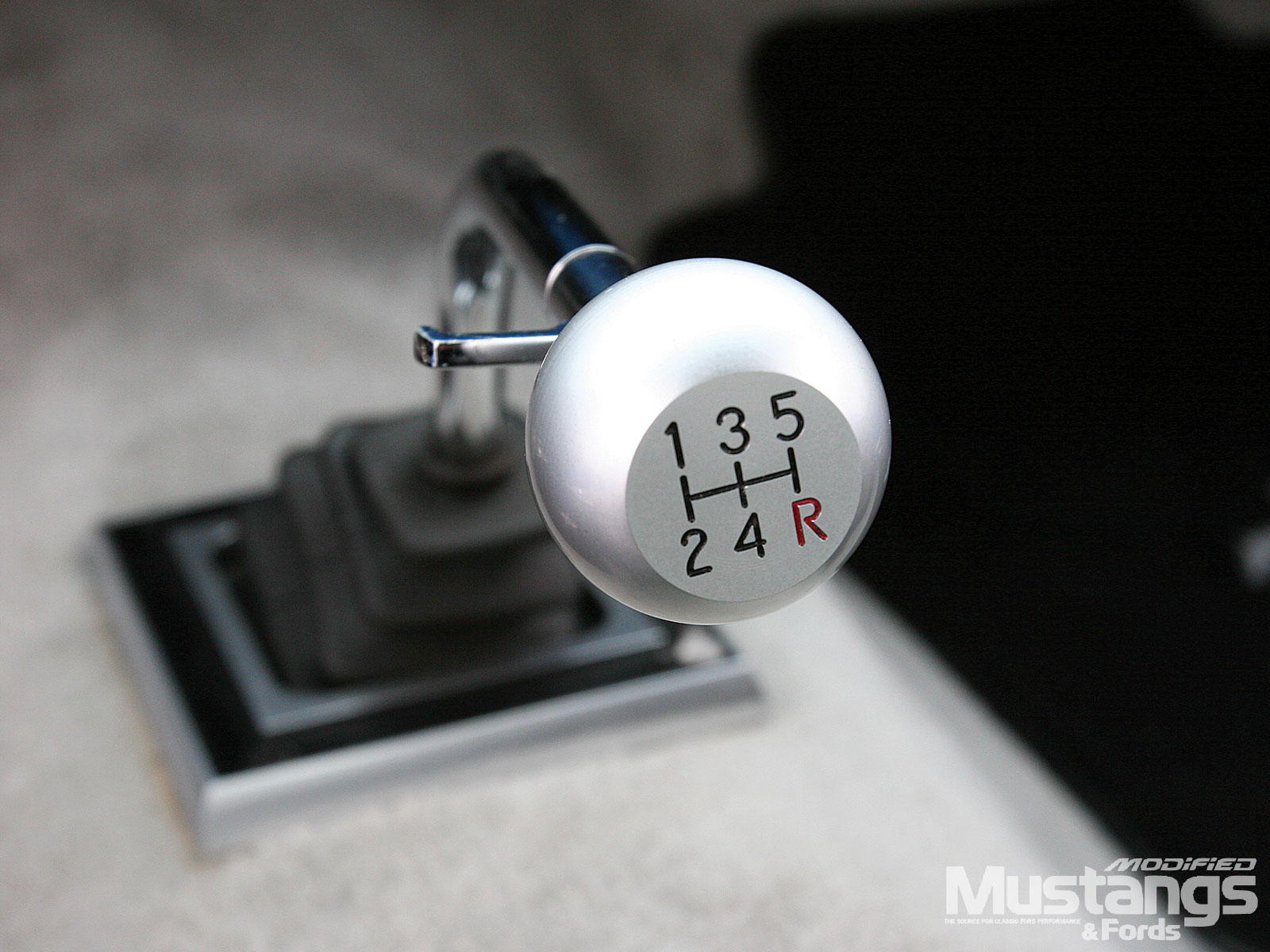 1965 Mustang Fastback Shift Knob