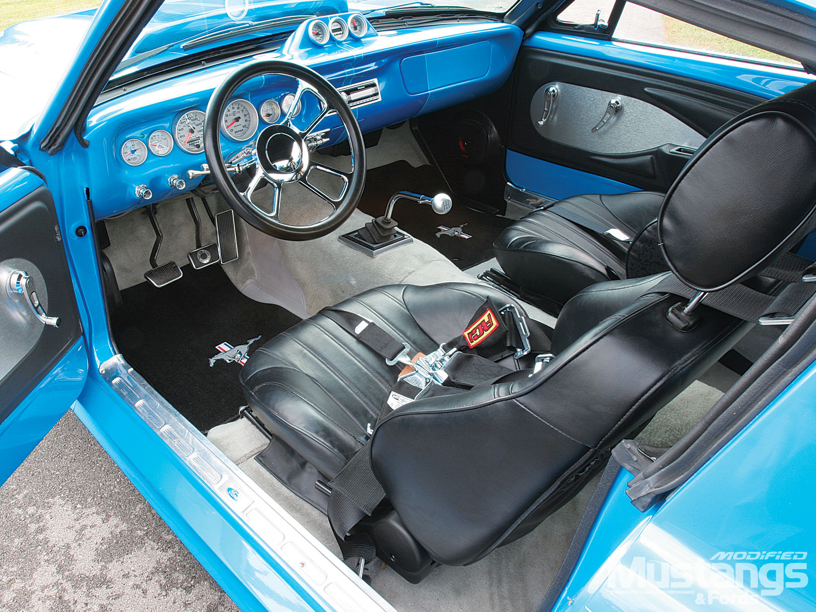 1965 Mustang Fastback Interior View