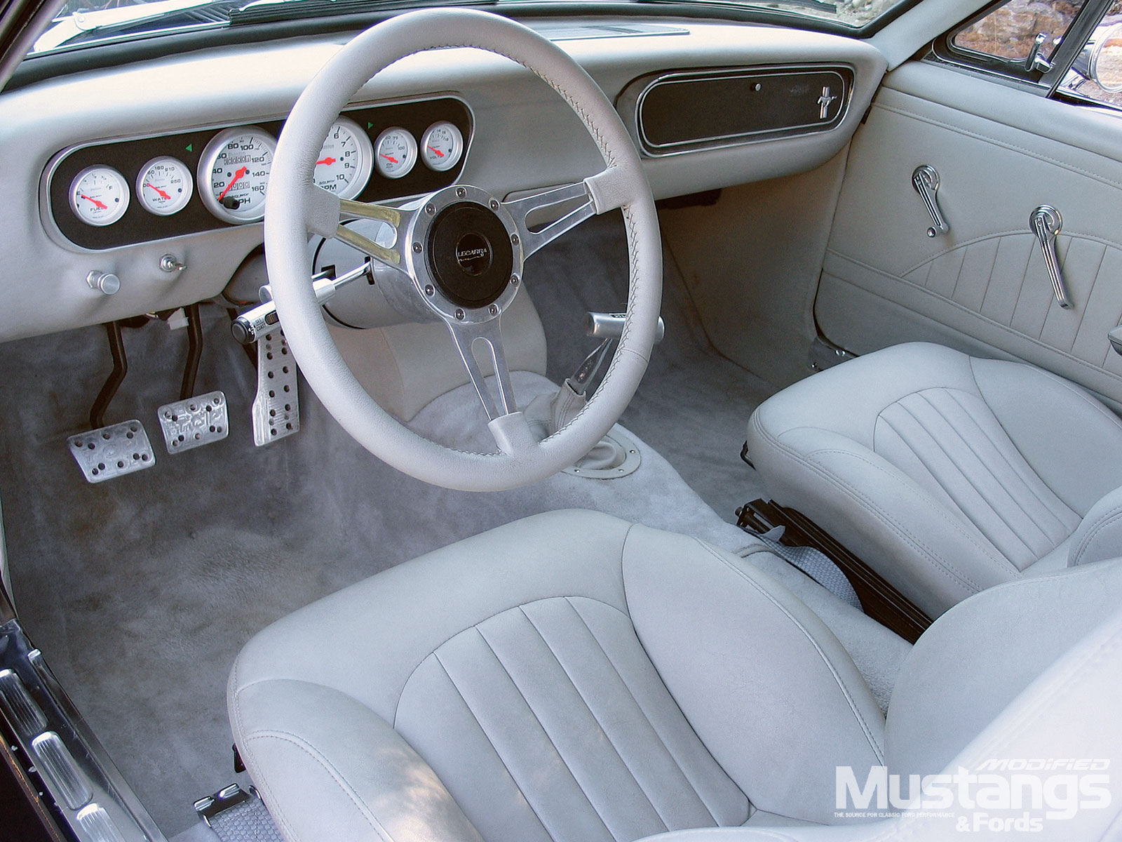 Best Mustangs To Modify Interior