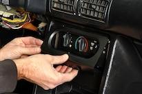 027 Mustang Center Console Hvac Control Trim