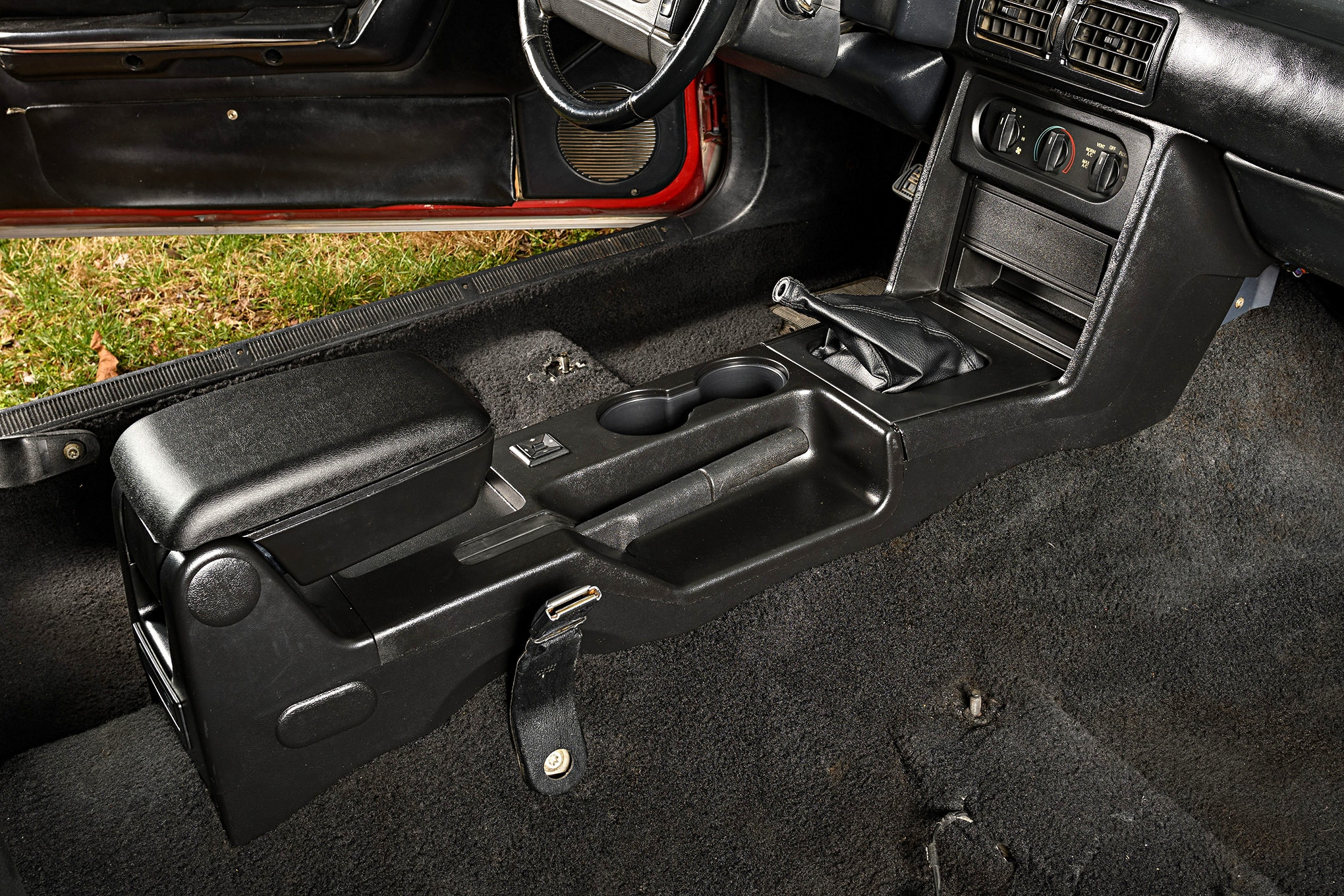 029 Mustang Center Console Restored Installed Finished