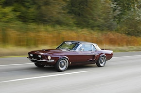 Sneaky shelby 1967 mustang convertible