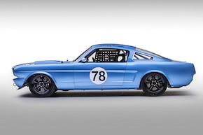 Full-Tilt Road-Race Mustang