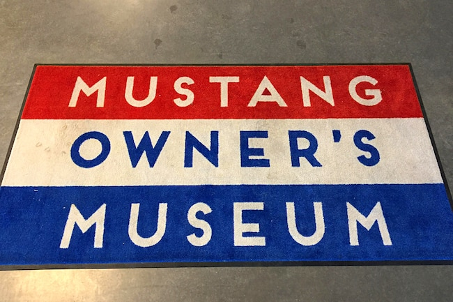 001 Mustang 55th Museum