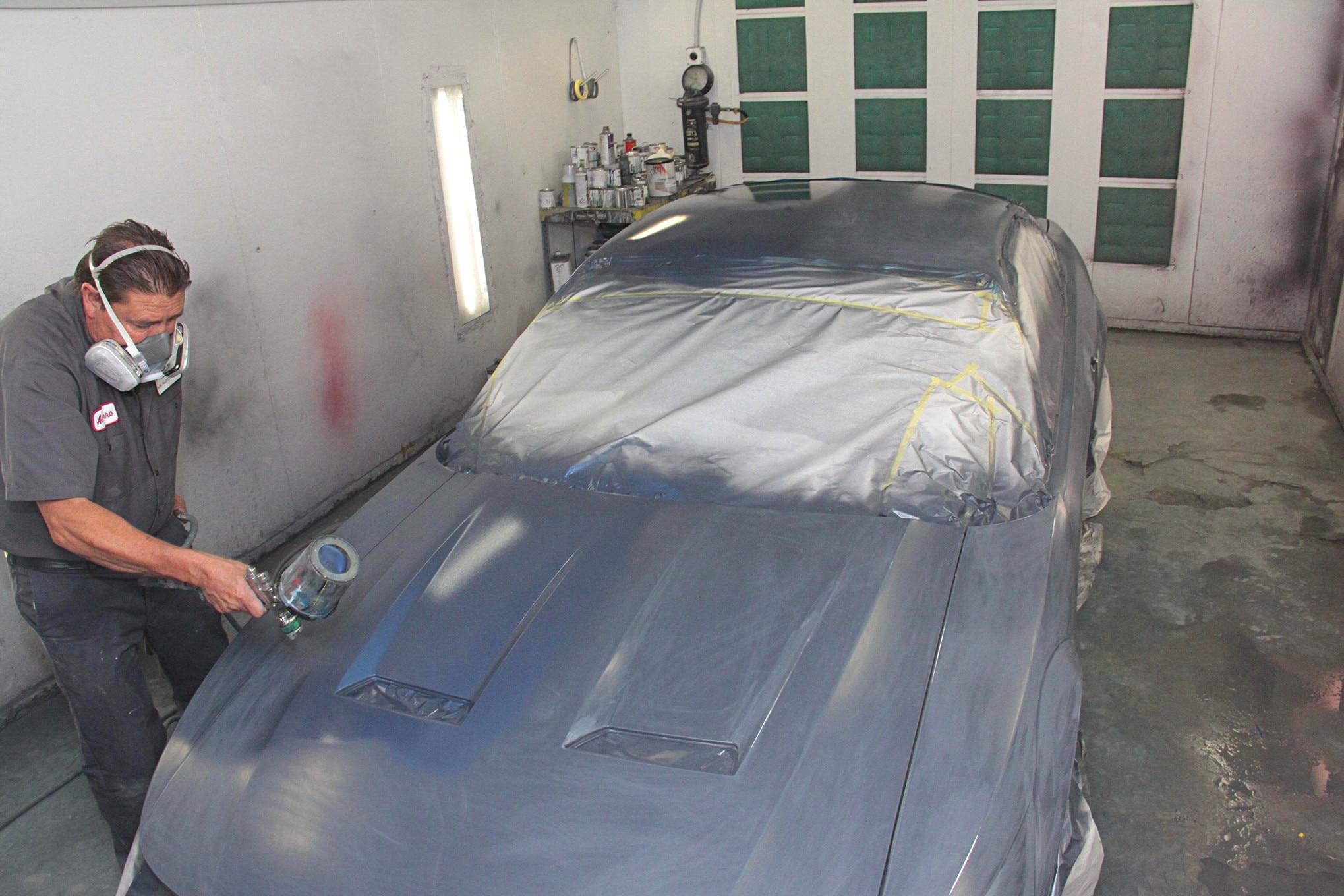 009 1999 Mustang Gt Paint Preparation Axalta Fitment