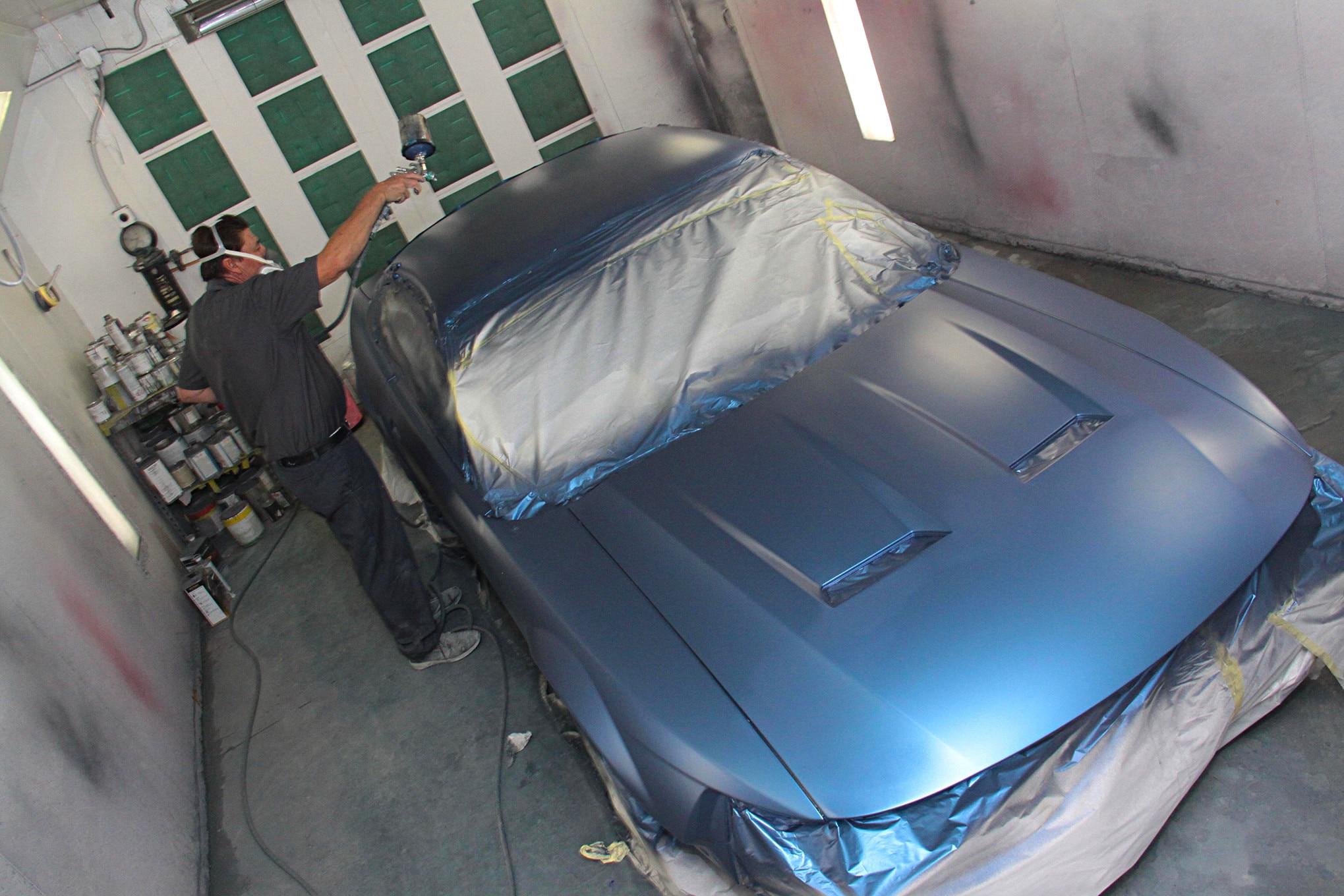 011 1999 Mustang Gt Paint Preparation Axalta Fitment