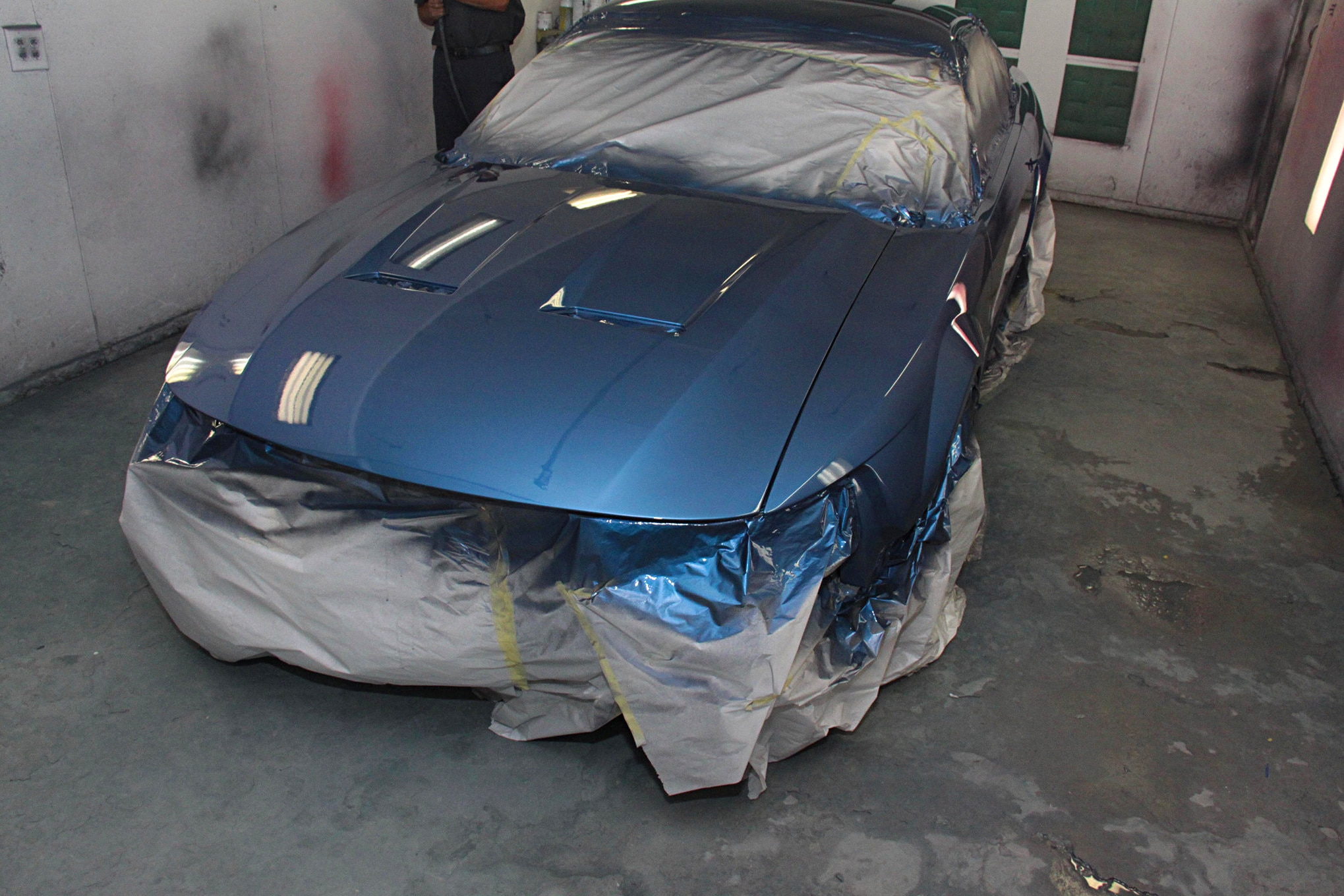 019 1999 Mustang Gt Paint Preparation Axalta Fitment
