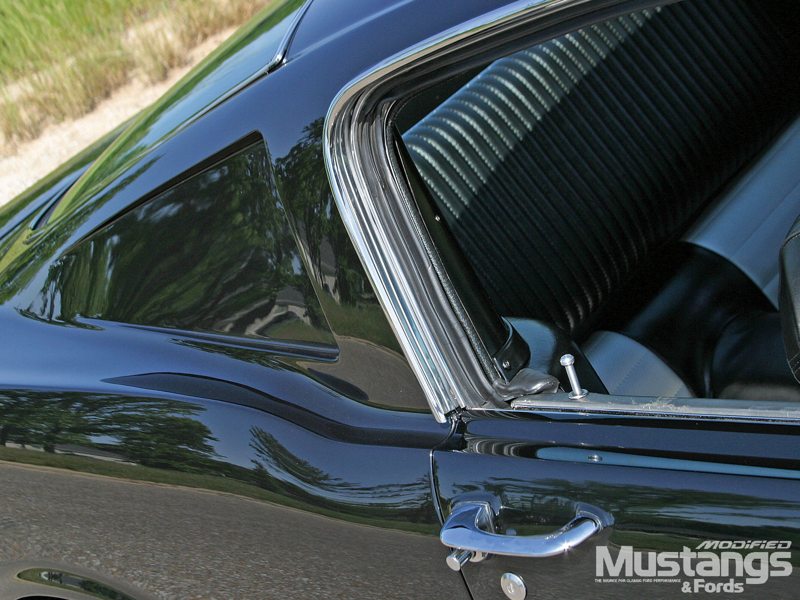 1965 Mustang Fastback Rear Panel Windows