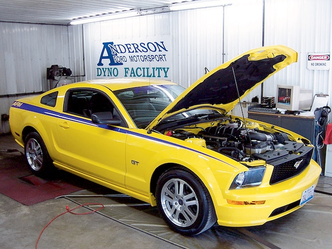 M5lp 0512 01 O 2005 Mustang Power Pipe 2005 Mustang Gt